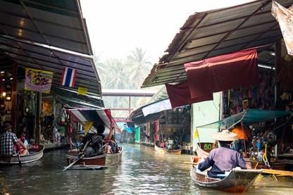 Floating Market Stalls
