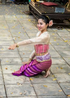 A Thai Dancer at the Jim Thompson House