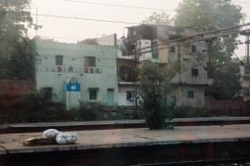 New Delhi Train Platform