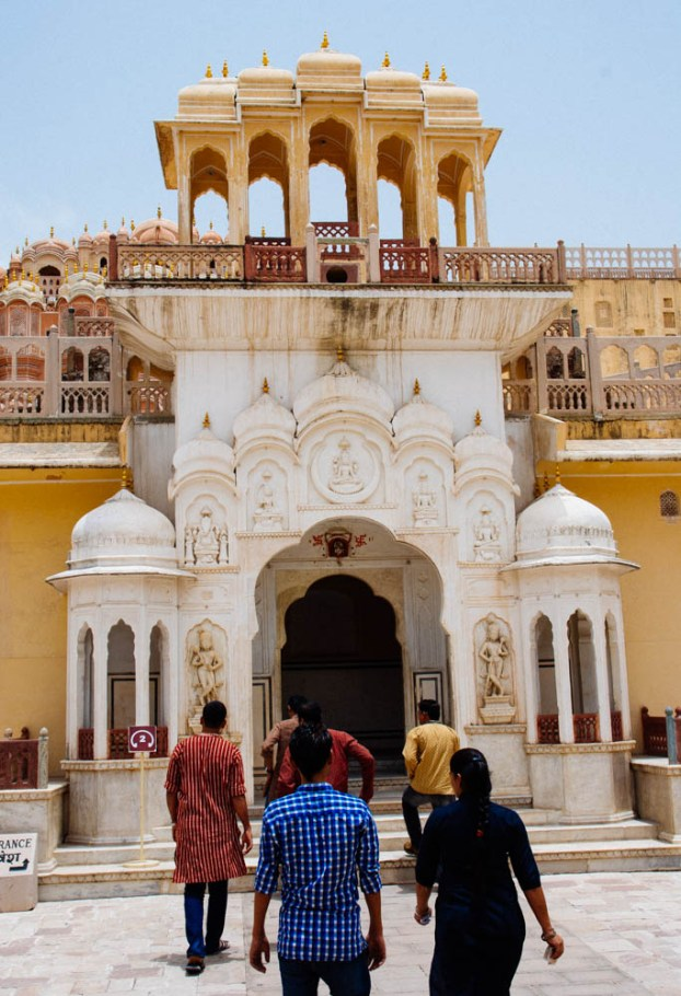 The Entrance to Hawa Mahal