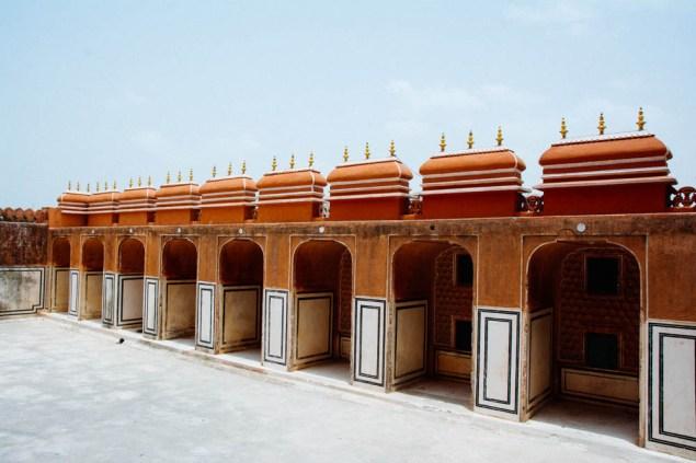 The roof of Hawa Mahal