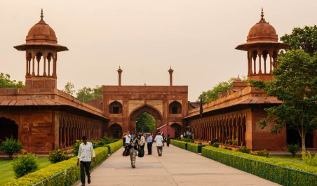The East Gate to the Taj Mahal