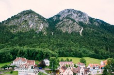 The town of Hohenschwangau