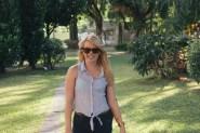 Nicole at Sun Yat Sen Memorial Hall