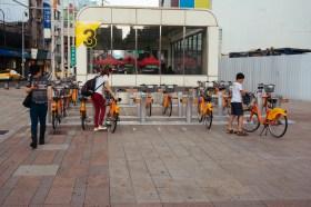 Returning bikes