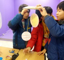 Making Solar Systems in Space Camp