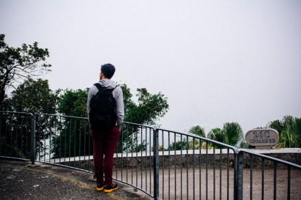 Atop Victoria Peak