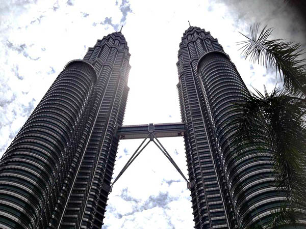Petronas Towers from Below