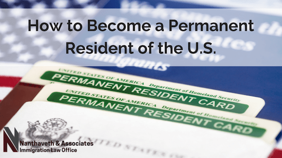 How to Become a Permanent resident in the US