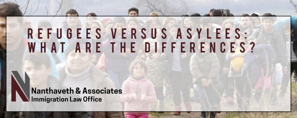 Refugees Versus Asylees