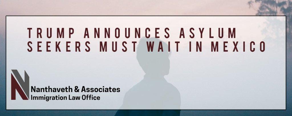 Asylum Seekers Wait in Mexico