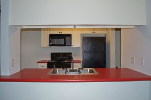 Bar area with sink