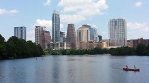 View from Austin boardwalk