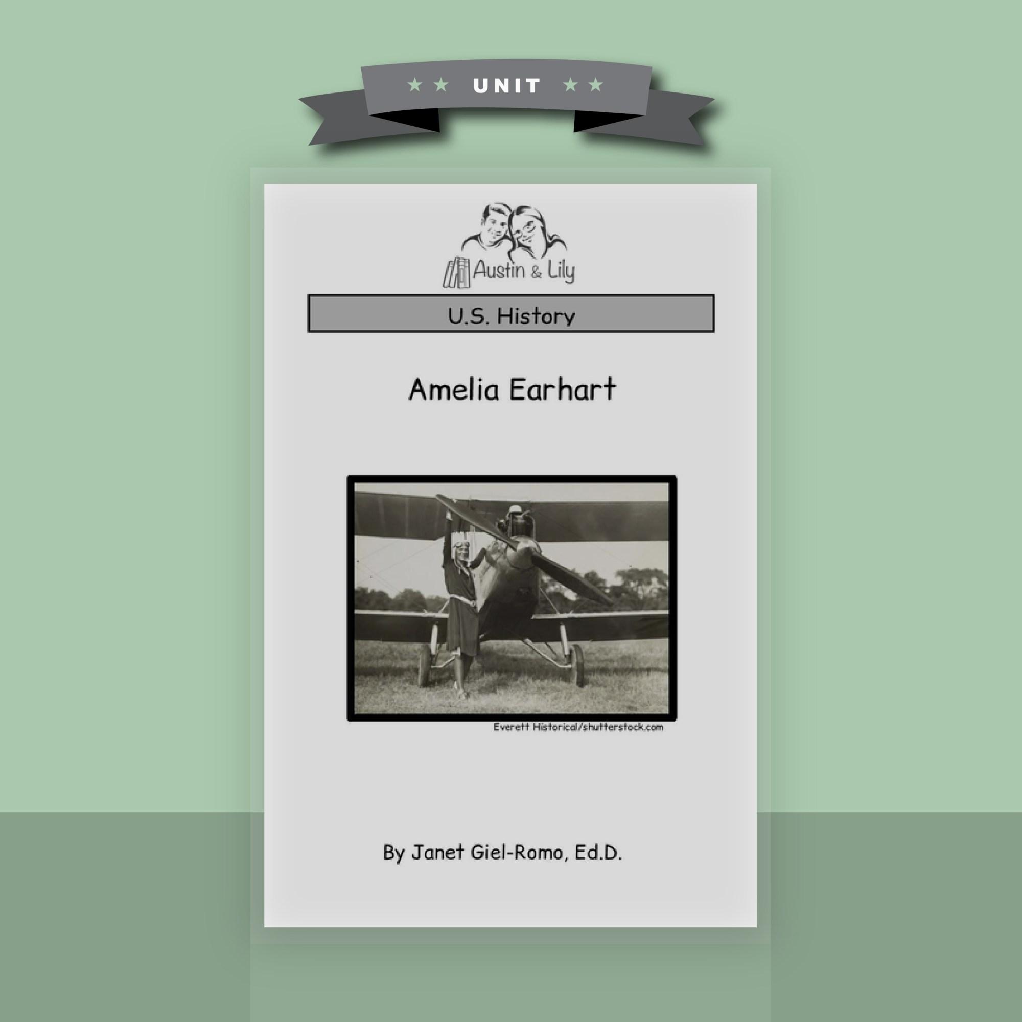 hight resolution of Amelia Earhart Biography - Austin \u0026 Lily