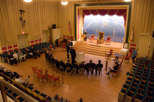 Open Lodge in Scottish Rite Theater