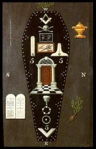 Master Mason's tracing board