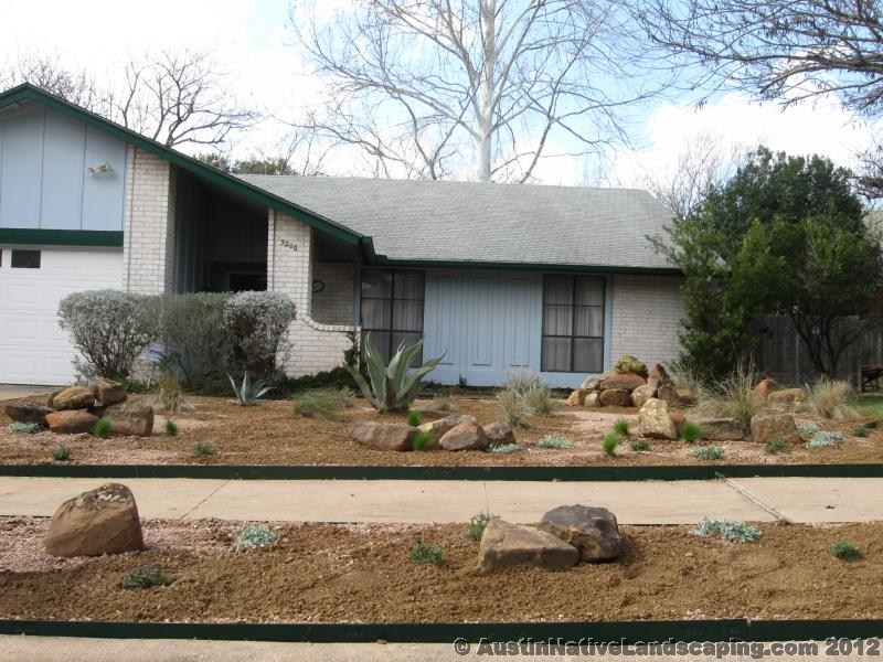 Decomposed Granite Mulch Prevent Weeds Drains Well Austin Native