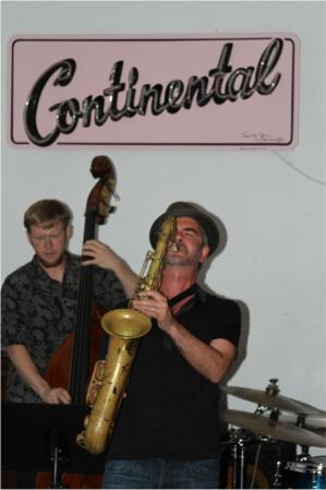 Elias Haslanger on Tenor Saxophone in Austin