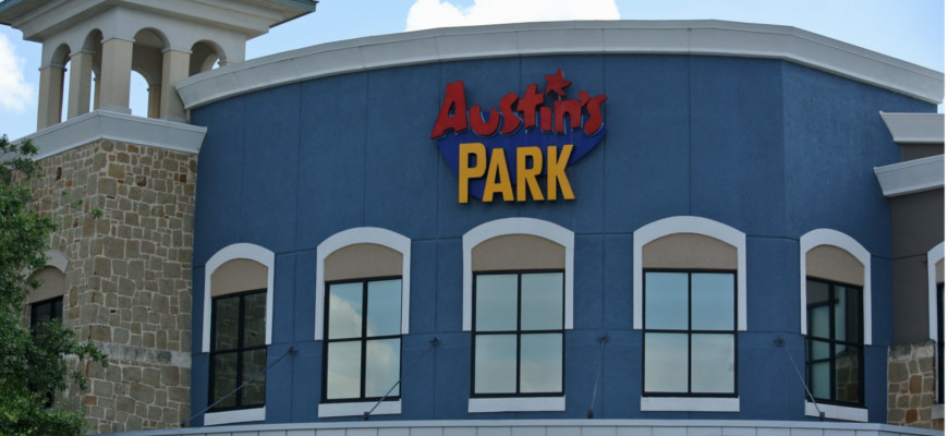 Austin Park N Pizza Revitalized for Families