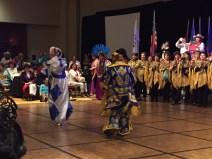 Bolivia had a large representation and beautiful dances.