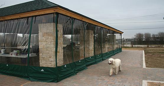 Weather Curtains Austin Decks Pergolas Covered Patios Porches