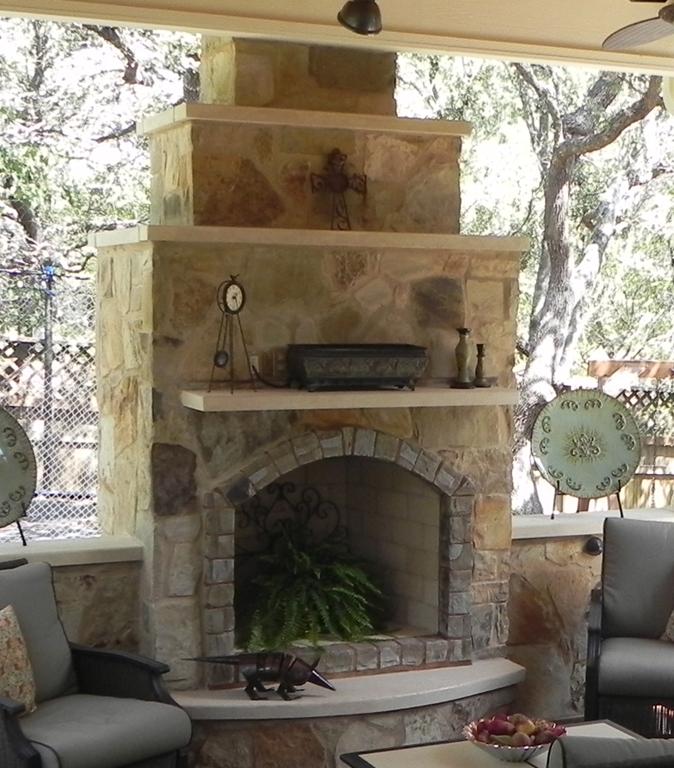 Austin TX outdoor kitchens