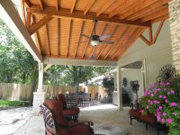 Austin patio cover | Austin Decks, Pergolas, Covered ...