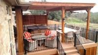 Austin outdoor bar | Austin Decks, Pergolas, Covered ...