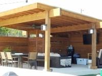 Bee Cave TX contemporary pergola | Austin Decks, Pergolas ...