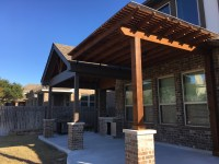 Austin covered patio | Austin Decks, Pergolas, Covered ...