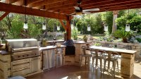 Outdoor kitchens Austin TX | Austin Decks, Pergolas ...