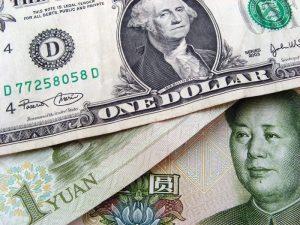 U.S. Dollar vs China Yuan