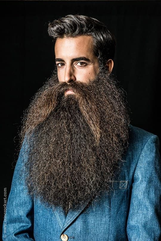 Beard And Mustache Championship FACIAL HAIRSTYLES