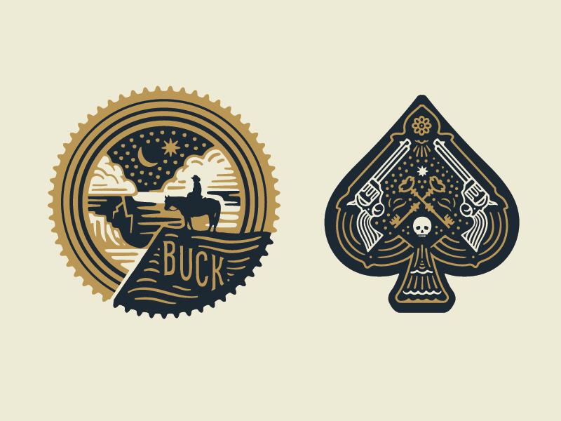 graphic design logos drifters curtis jinkins neighborhood studio