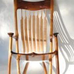 beautiful rocking chair by asfd instructor wayne delyea