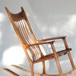 beautiful rocking chair by austin school of furniture and design instructor wayne delyea