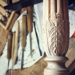 Acanthus Carving by Aspen Golann