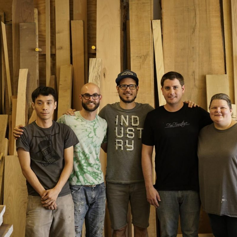 woodworking furniture maker teachers of Austin School of Furniture and Design