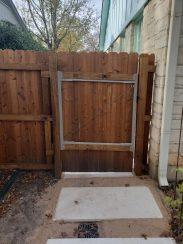 Custom Wood Gate