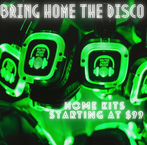 Bring Home the Disco with our stay-at-home kits