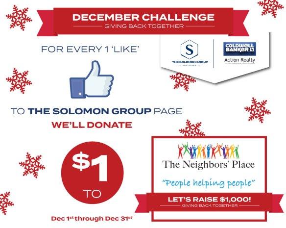 December Dollar Challenge, The Solomon Group Wausau