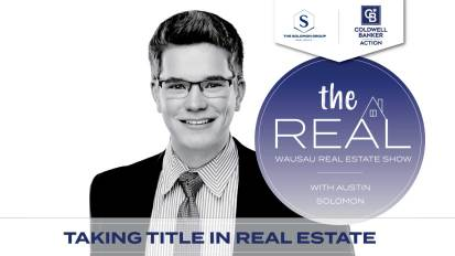 Taking Title in Real Estate