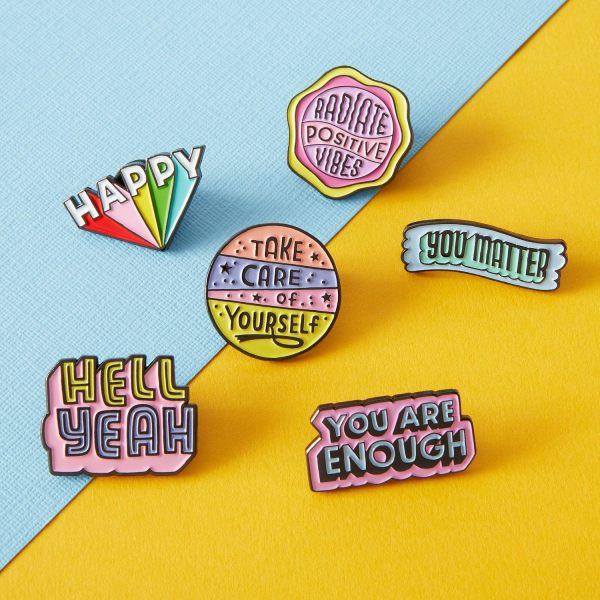 5 types of Lapel pins