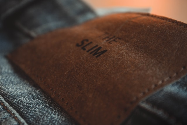 Leather Patches On Jeans