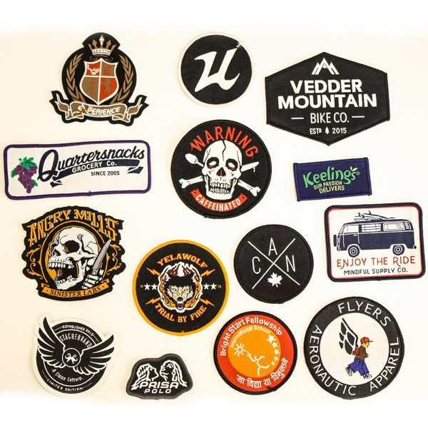 Woven Labels With Adhesive Backings