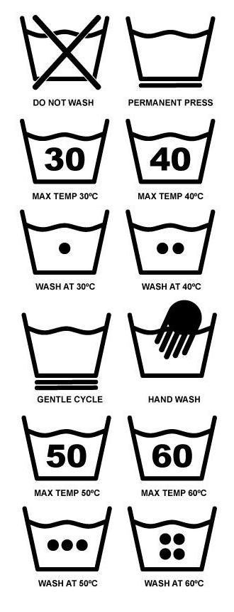 washing-symbols