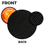 """Velcro Hook <br><p style=""""font-size: 11px;"""">Velcro hook backing is sewn on the patch<br> by running stitch</p>"""