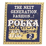 """Woven labels<br><p style=""""font-size: 11px;""""> The whole label is woven makes for an attractive <br>soft feel and long-lasting too.</p>"""