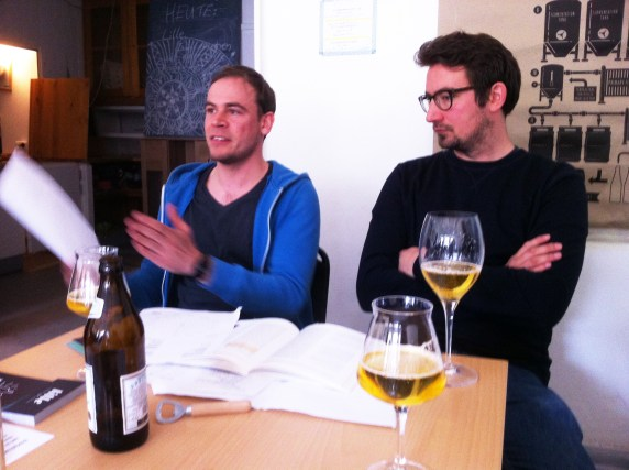 lille Bierbrauer Max Kühl und Florian Scheske