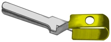 AE-FD556R, MEHDORN VESSEL CLIP TEMPORARY, JAW OPENING 6MM, JAW LENGTH 1,0MM, CLOSING FORCE 10 G - 15 G